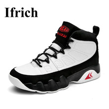 Ifrich 2017 New Brand Basketball Shoes Professional Basketball Sneakers for Men Good Quality Mens Basketball Trainers Black