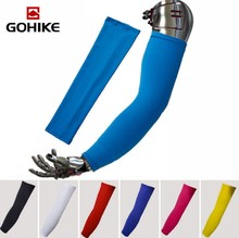 New Pure color simple style Bike MTB Cycling Arm Warmers UV Protection Oversleeve Armwarmer Sleeves Riding Arm Sleeve(China)