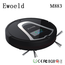 Eworld Mop Robot Vacuum Cleaner For Home HEPA Filter Dust Bucket Sensor Remote Control Self Charge ROBOT ASPIRADOR Clean Floor(China)