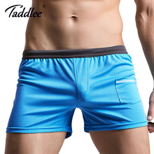 Taddlee Brand Sexy Men Underwear Boxer Shorts Trunks High Quality Mens Boxers Underwear Gay Penis Pouch Shorts Bottoms New