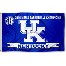 Kentucky Wildcats SEC Champions College Large Outdoor Flag 3ft x 5ft Football Hockey Baseball USA Flag