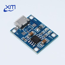 TP4056 1A Rechargeable Charging Board Charger Module Lithium Battery Plates MICRO USB Interface 5PCS