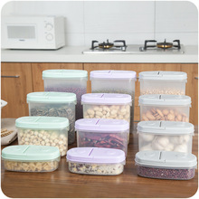 Seal Insurance Tank Storage Plastic Crisper Grains Food Storage Box Kitchen Sorting Food Storage Box Container