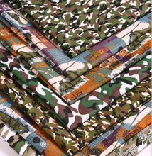 New Printed Polyester Camouflage Fabrics 100CM*150CM Retail 1pc Manual Cloth Chevron Printed Fabric For Home Textile