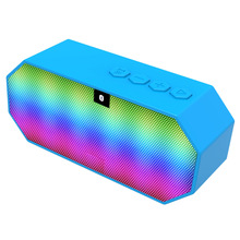 Melery E925 Sports wireless audio LED colorful portable card FM Bluetooth small speaker hands-free call