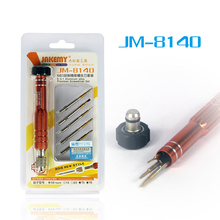JAKEMY JM-8140 6 in 1 Mini Precision Screwdriver Set Pentalobe(Star) Torx for Repairing iPhone / Samsung / Sony Mobile Phone