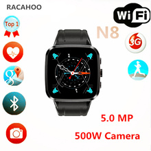 ONSELL NEW Luxury Bluetooth4.0 Smart Watch N8 Quad core MTK6580 Camera 5.0M for ios Apple iPhone Andriod Smartphones(China)