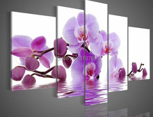 110CMX60CM  hand-painted  oil painting high quality Modern artists painting Butterfly orchid  painting DY-023