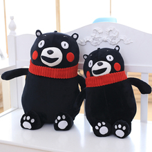 Japan Kumamoto bear pillow plush toy teddy bear doll birthday gift