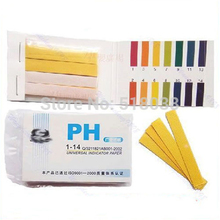 OOTDTY 80 Strips PH Test Strip Aquarium Pond Water Testing PH Litmus Paper Full Range Alkaline Acid 1-14 Test Paper Litmus Test(China)