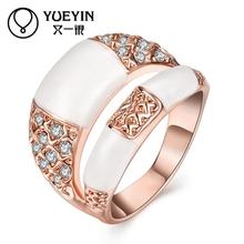 rose gold color rings for women fashion jewelry anel feminino Rhinestone Original designs Factory price