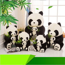 60cm Kawaii Plush Doll Cute Panda Toy Mother And Child Panda Dolls Stuffed Toys for Baby Valentines Day Gift Juguetes Brinquedos(China)
