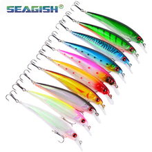 10 Color Classic Mino Plastic Bait 11cm / 13.77g Hard Bait Ebay Quick To Sell Electricity Business Fishing Gear DHM-001