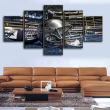 5 Piece Canvas Dallas Cowboys Decoratation For Home Painting Fashion Wall Poster Brand New Sport Boys Painting On Canvas\J0422