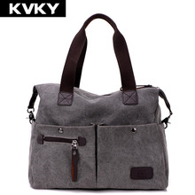 2016 new arrival women messenger bags vintage quality canvas handbags casual women crossbody shoulder bag big tote wholesale