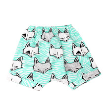 2017 Fashion Summer Children Surf Beach Animal Print Clothing Boys Shorts Adjustable Breathable Pants Baby Kids Children Pants