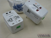 New 1A Universal Travel Adapter Phone Charger All in One Worldwide Use for US/ UK/ EU/ AU Free Shipping