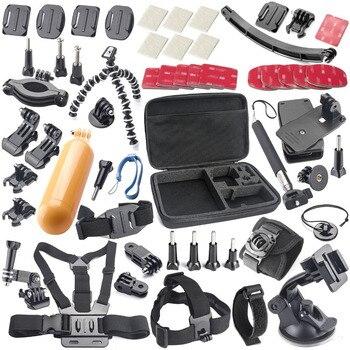 Se divierte la cámara accessores soocoo kit para c30/c30r/c50/c10s/s70/s60/s60b/c10 sjcam m10 sj4000/sj5000/sj5000x gopro hero 4