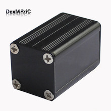 "Aluminum project box extruded enclosure  DIY 25mm(0.98"")(H)X25mm(0.98"")(W)X40mm(1.57"")(L) separate type"