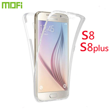 For SamsungS8/S8 Plus Case MOFi Silicone TPU Case for Samsung S8 Transparent Protector Case Glossy Case For Galaxy S8/S8 Plus(China)