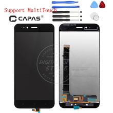 for Xiaomi Mi A1 LCD Display Digitizer Complete LCD Touch Screen Panel Frame Assembly Replacement Spare Parts for Xiaomi MiA1(China)