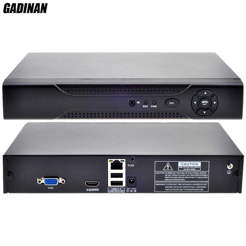 GADINAN Security Standalone Video Recorder Network IE HDMI Output P2P Cloud 1080P 8CH h.264 CCTV NVR Motion Detection ONVIF CCTV<br><br>Aliexpress