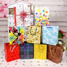 12PCS/Lot Paper Gift Bags Carton Flower Candy Box Chocolate Packaging Wedding Favor Gift Boxes