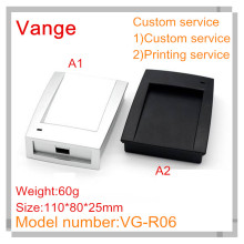 2pcs/lot New product IP54 ABS plastic enclosure 110*80*25mm for door access control card reader(China)