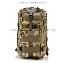 Tactical Molle Backpack Camping Hiking Trekking Backpack Bag Day Pack Military 3p PACK Outdoor Sport Backpack Multicam CP Camo(China)