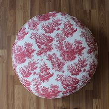 VEZO HOME 60cm printed scenic plant round cat dog beds pet pads dog cushion puppy products sofa soft kennel mat(China)