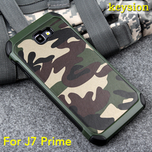 Case for Samsung Galaxy J7 Prime 2 in1 Army Camo Camouflage Pattern PC+TPU Armor Anti-knock Protective Back Cover For On7 2016