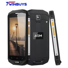 "Original AGM A8 SE IP68 Waterproof Mobile Phone 5.0""HD 2GB RAM 16GB ROM Qualcomm MSM8916 Quad Core 8MP 4050mAh Smartphone(Hong Kong)"