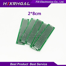 Buy 10pcs 2x8cm 2*8 Double Side Prototype PCB diy Universal Printed Circuit Board Free for $1.99 in AliExpress store