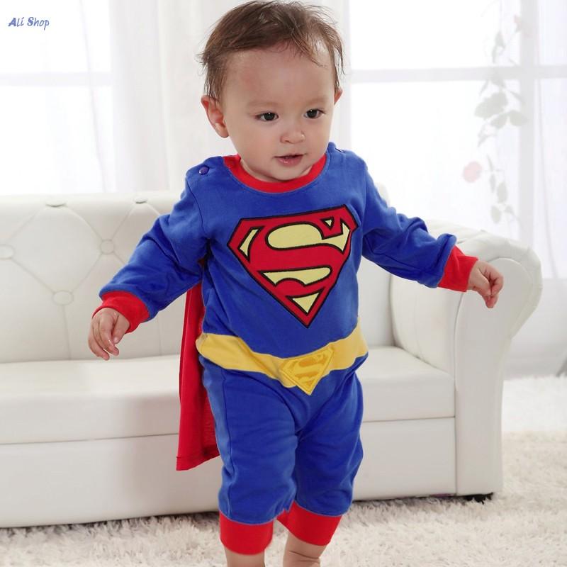 Newborn Superman Suit Fancy Dress SuperHero Costume Jumpsuit for Baby Toddler Kids Girls Boy Clothes Romper Gift Baby Kleding M3<br><br>Aliexpress