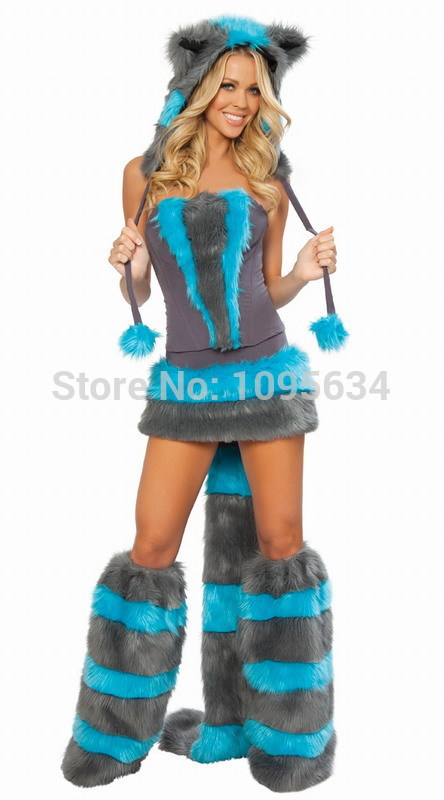 free pp sexy big bad wolf fox christmas husky ladies fancy dress costume animal cosplay costume halloween on aliexpresscom alibaba group