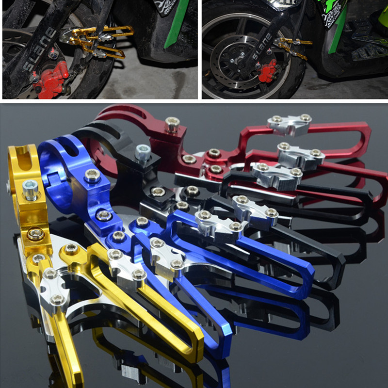 New Universal Motorcycle 40mm Diameter Fork Line Clamps Motocross Line Clip Motorcycle Modified Accessories 4 Colors Optional<br><br>Aliexpress