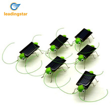 LeadingStar 5 Pcs Solar Powered Grasshopper Great Solar Toy for Children or Decoration zk 35(China)