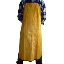 70x100cm Special Protection Workwear Fire-Retardant Argon-arc Cow Leather Welding Apron Work Protective Clothing Dustproof Apron(China)