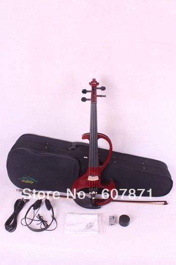 4/4 High quality 6 #  4 strings   red Electric violin<br><br>Aliexpress