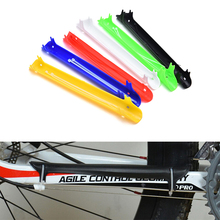 Gmarty Plastic Bike Frame Protector Chain Cycle Stay Rear Fork Guard Cover Bicycle Chain Protection Cycling Chain Cover(China)
