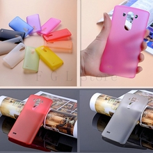 0.3mm Matte Skin Transparent Case For LG G3,Cell Phone Case For LG G3 Fashion Design Back Cover