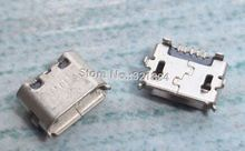 100pcs/lot  very common used mirco usb connector  charging port used for many mobile phone