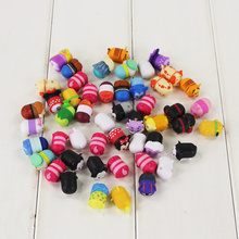 Free Shipping 50styles Mini Tsum Tsum Pvc Doll Toy Screen Cleaner Inside Out Mickey Minnie Animal Bear Toy Birthday Gift For Kid