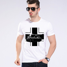 Summer Style Funny World Of Tanks T Shirt Men Manufacture World War Tank T-shirt Boy Top brand Tee Moe Cerf H3-10#