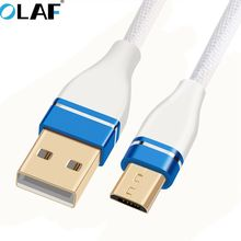 Buy Olaf Micro USB Cable Data Charger Cable 1M Cable Samsung XiaoMi Fast Charging Fast Data Sync Charger Android for $1.99 in AliExpress store