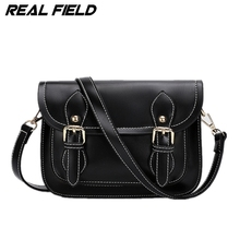 Real Field Vintage Fashion Soft PU Leather Small Flat Messenger Bags Women's Symbol Color Shoulder Crossbody Handbags 210