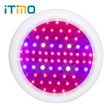 ITimo Full Spectrum LED Lamp Bulb Greenhouse Hydroponics System Professional 216W Spotlight Mini UFO Grow Lights