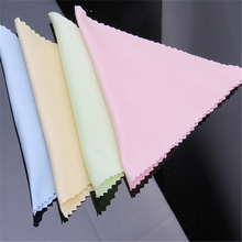 Fashion 100Pcs Sunglasses Eyeglass Cleaning Cloth Microfiber Clean Lenses Cloth Wipes(China)