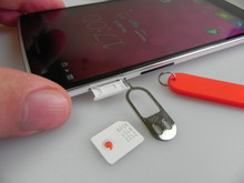 In Stock 100% good SIM Card Eject Pin Handling needle for Oneplus One Smartphone + Free Shipping + Tracking Number(China)