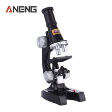 ANENG Best Microscope Kit Lab 100X-1200X Home School Educational Toy Gift For Kids Boys Girls Students